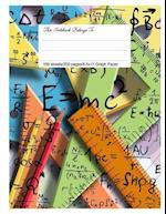 Graph Paper Workbook, 5x5 Graph Ruled Paper, 8.5.X 11, Math Inspiration