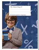 Classic Composition Book, 8.5.X 11, College Ruled, Math Fun
