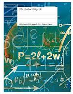 Graph Paper Workbook, 5x5 Graph Ruled Paper, 8.5.X 11, Enjoy Math
