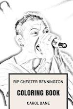 Rip Chester Bennington Coloring Book