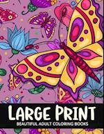 Beautiful Adult Coloring Books Large Print