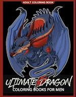 Ultimate Dragon Coloring Books for Men