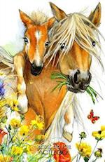 Horse and Foal Notebook