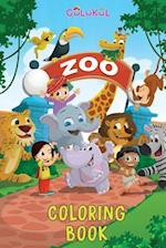 Zoo Colouring Book for Kids