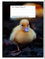 Composition Notebook for School, 8.5.X 11, Wide Ruled, Cutest Duckling