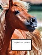 Composition Journal (Notebook) - Shetland Pony