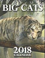 Big Cats 2018 Calendar (UK Edition)