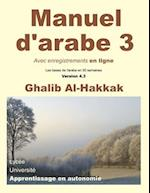 Manuel D'Arabe En Ligne - Tome III - Version 4