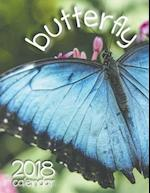 Butterfly 2018 Calendar