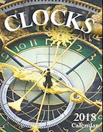 Clocks 2018 Calendar (UK Edition)