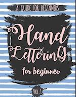 Hand Lettering for Beginner Volume1