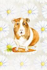 Colorful Guinea Pig Watercolor Art Journal