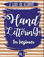 Hand Lettering for Beginner Volume3