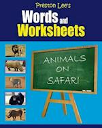 Preston Lee's Words and Worksheets - Animals on Safari