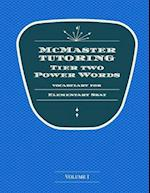 McMaster Tutoring Tier 2 Power Words for the Elementary SSAT