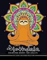 Slothdala Coloring Book