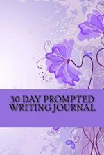 30 Day Prompted Writing Journal