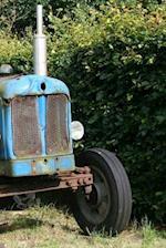 Notebook Vintage Farm Tractor