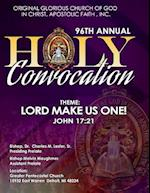 96th Annual Holy Convocation