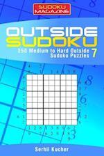 Outside Sudoku - 250 Medium to Hard Outside Sudoku Puzzles