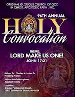 Ogc Holy Convocation B&w