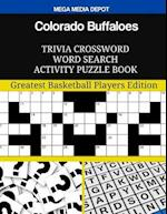 Colorado Buffaloes Trivia Crossword Word Search Activity Puzzle Book