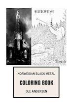 Norwegian Black Metal Coloring Book