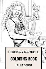 Dimebag Darrell Coloring Book
