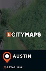 City Maps Austin Texas, USA
