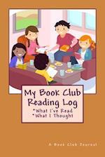 My Book Club Reading Log