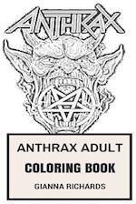 Anthrax Adult Coloring Book