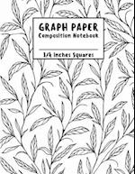 Graph Paper Notebook (Compostion Notebook)