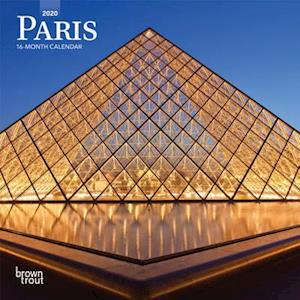 Paris 2020 Mini Wall Calendar