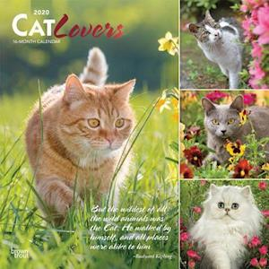 Cat Lovers 2020 Square Wall Calendar