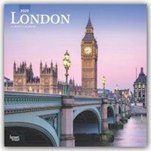 London 2020 Square Wall Calendar