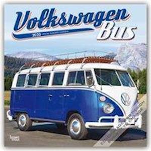 Volkswagen Bus 2020 Square Wall Calendar