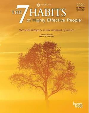 7 Habits of Highly Effective People, the 2020 Diary