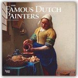 Famous Dutch Painters 2020 Square Wall Calendar