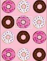 Donut Enthusiast Composition Notebook