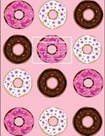 Donut Enthusiast, Composition Notebook