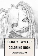 Corey Taylor Coloring Book