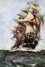 Sailing Ship Notebook
