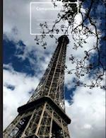 Paris Eiffel Tower Composition Notebook