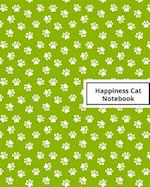 Happiness Cat Notebook