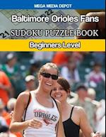 Baltimore Orioles Fans Sudoku Puzzle Book