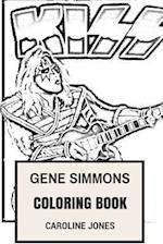 Gene Simmons Coloring Book