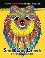 Small Dog Breeds Coloring Book