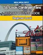 St. Louis Cardinals Fans Sudoku Puzzle Book