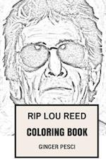 Rip Lou Reed Coloring Book