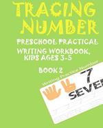 *Tracing Numbers*preschoolers Practice Writing Numbers Workbook, Kids Ages 3-5*